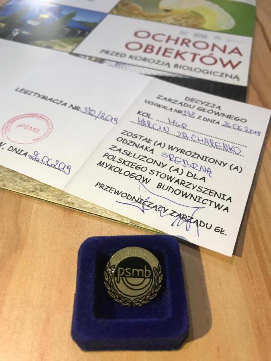Odznaka PSMB